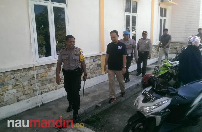 KPU Meranti Segera Bagikan 256 Spanduk dan 160 Baliho ke Parpol