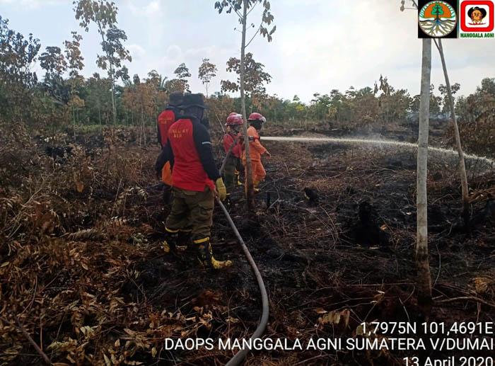 Patroli Terpadu, Kurangi Titik Panas di Sumatera