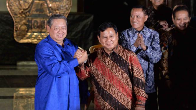 Lusa, SBY dan Prabowo Bertemu di Kuningan