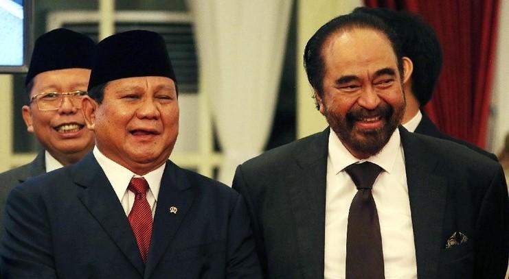 Prabowo - Surya Paloh Makin Akrab, Ini Komentar Kader NasDem
