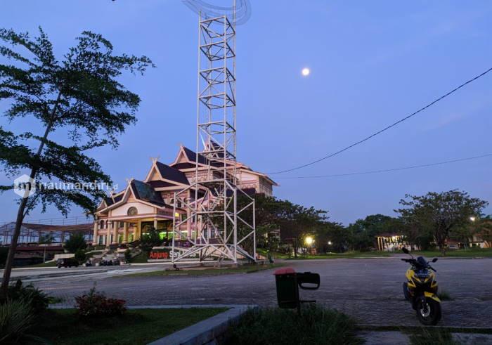 Seniman Tolak Pembangunan Quran Center di Bandar Serai Pekanbaru
