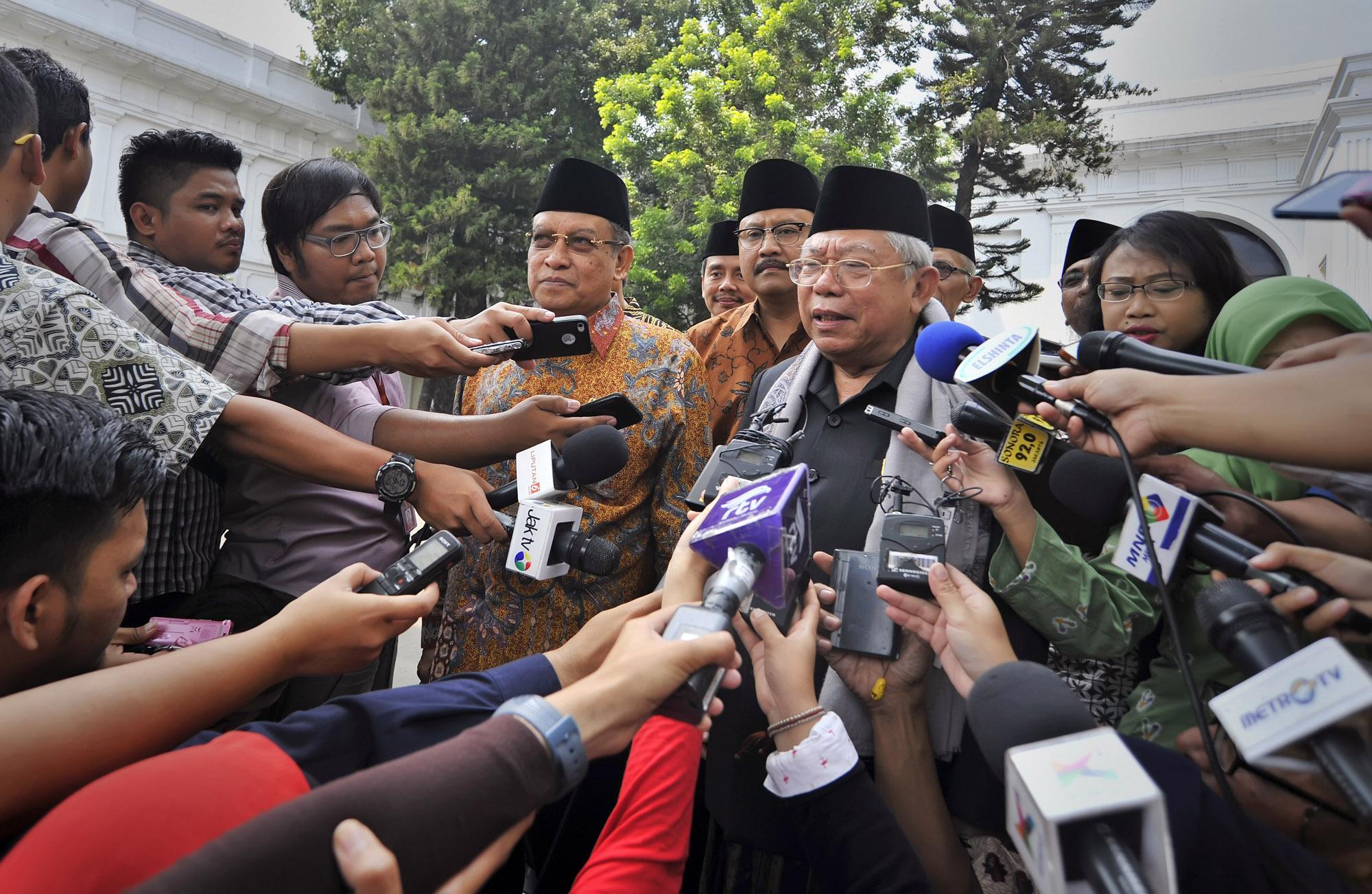 Ma'ruf Amin Sebut Banyak yang Salah Memahami Islam Nusantara
