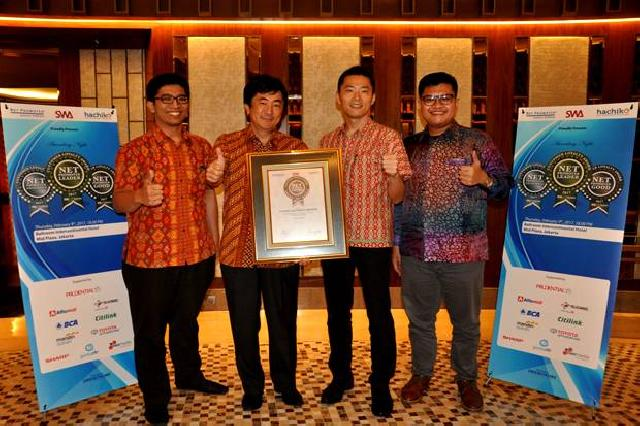 Sharp Raih Penghargaan 6 Ketegori Top Brand Awards 2017