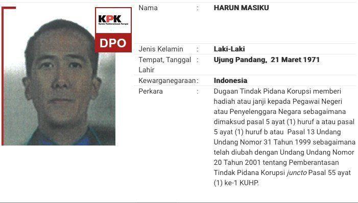 Harun Masiku Diduga Sengaja Disembunyikan, KPK Peringati Hukuman bagi yang 'Melindungi' Buronan