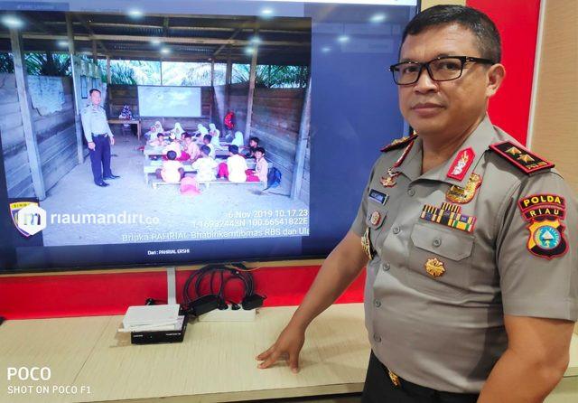 661 Personel Polda Riau Disiapkan untuk Bubarkan Kerumunan Warga