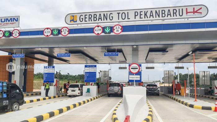 Masuk Tol Pekanbaru-Dumai Berbayar Mulai 2 November