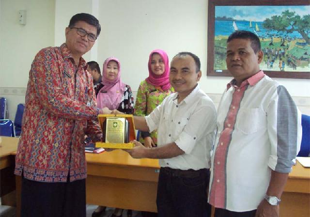 Manajemen Haluan Riau Gelar Kunjungan Silaturahmi