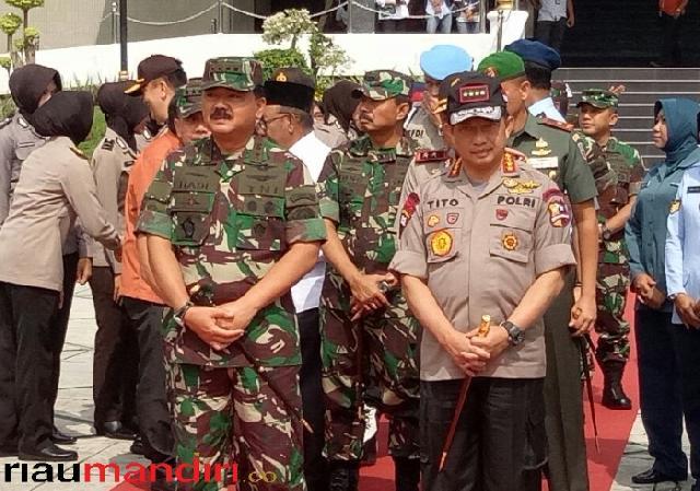 Jelang Pilkada dan Pemilu, Ini Pesan Panglima TNI Serta Kapolri dalam Kunjungan ke Riau