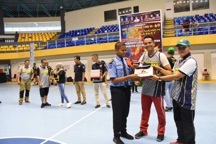 16 Tim Basket dari Riau dan Sumbar Berlaga di HUT Kampar