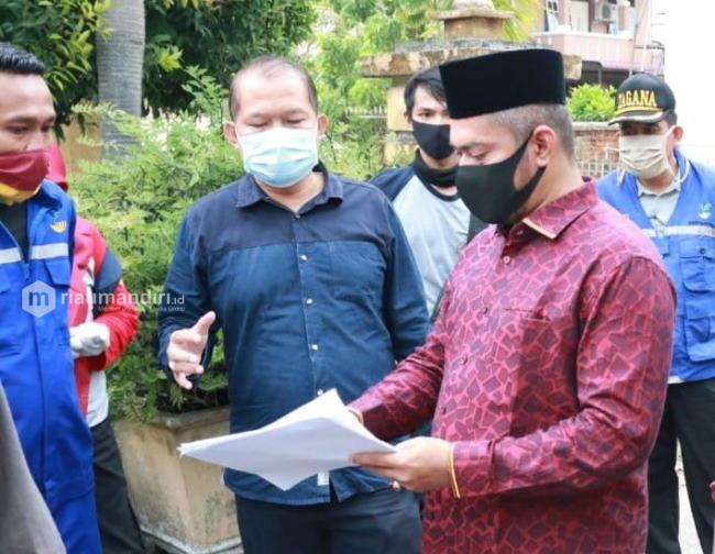 DPRD Pekanbaru Awasi Penyaluran Bantuan Sembako oleh Pemko