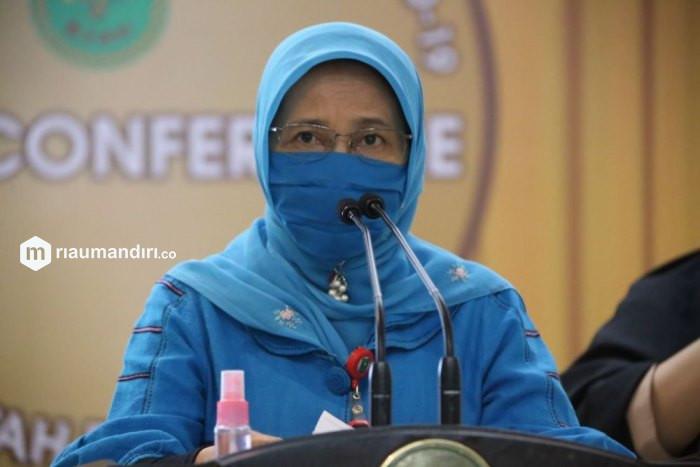 Kasus Positif Meledak, Kadiskes Riau Sebut Imbas PPKM Level 4