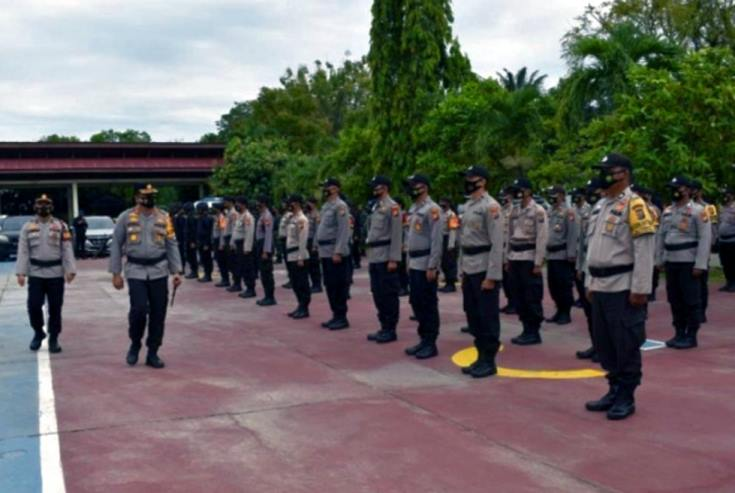 Polda Riau Siagakan 854 Personel Amankan PSU di Inhu dan Rohul