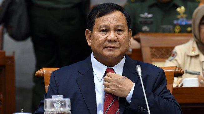 Menhan Prabowo Tegas Tolak saat Diminta Fraksi PDIP Umbar Dana Pertahanan RI