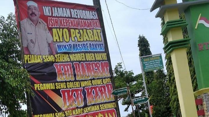 Bikin Baliho Zaman PKI Lebih Enak, Lurah di Sragen Diduga Gangguan Jiwa