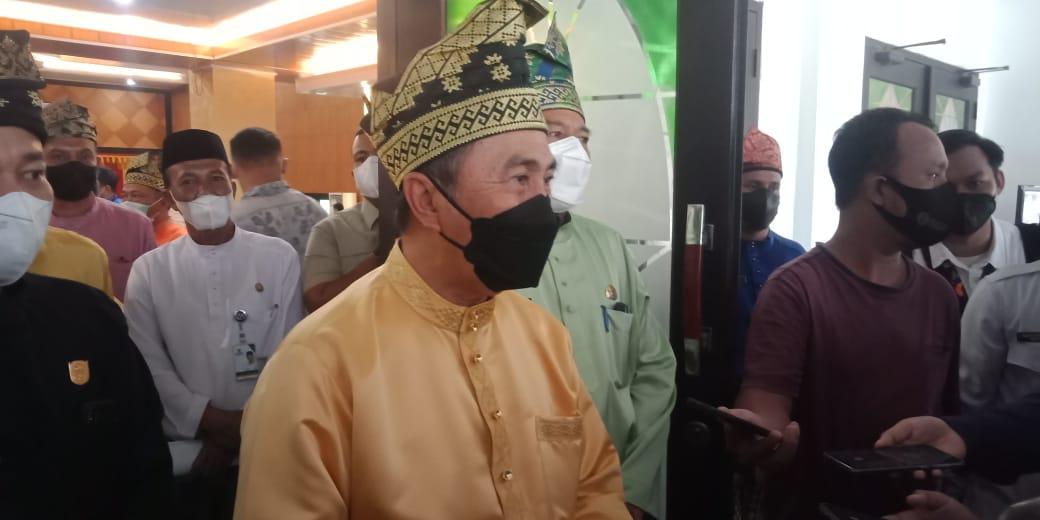 Gubernur Riau Syamsuar Hadiri Rapat Parpurna Hari Jadi Kabupaten Siak ke-22