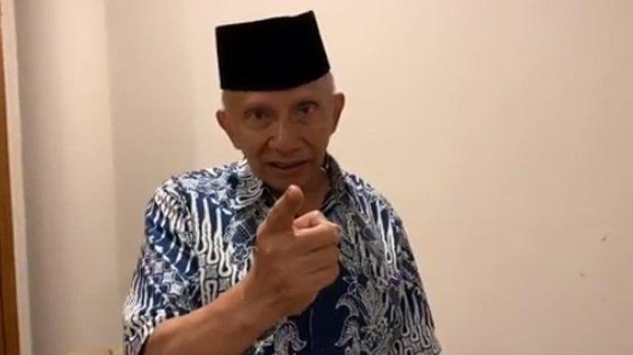 Amien Rais: Orang yang Paling Diminta Tanggung Jawab di RI adalah Jokowi dan Luhut