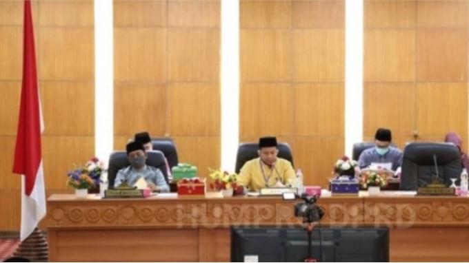DPRD Siak Gelar Rapat Paripurna Laporan Hasil Reses