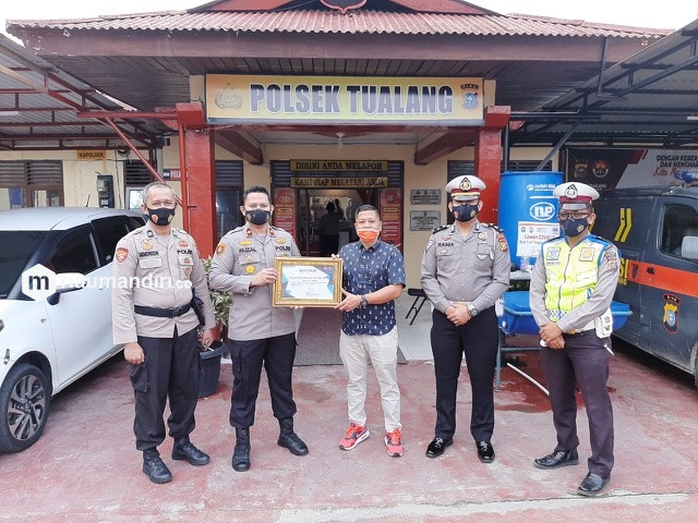 Kapolsek Tualang Kompol Faizal Ramzani Menjabat PS Kasubdit 3 Ditreskrimsus Polda Riau