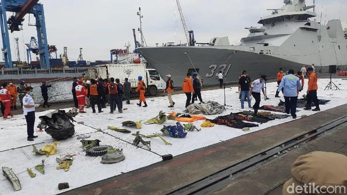 Sudah 40 Kantong Jenazah Korban Sriwijaya Air Ditemukan Tim SAR