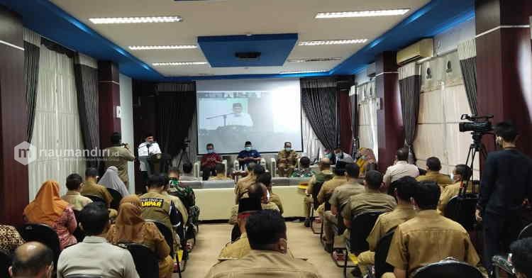 Bappeda Kampar Gelar FKP Ranwal RKPD 2022, Ini Pesan Bupati
