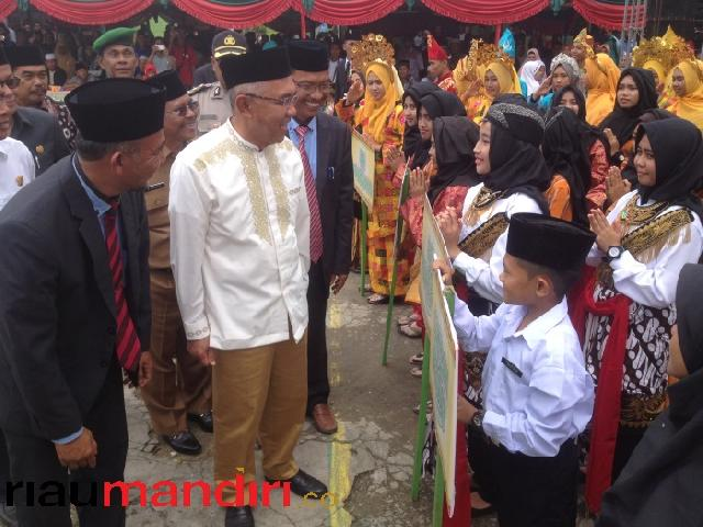 Gubri Dijadwalkan Shalat Ied di Kecamatan Mandau Sekaligus Serahkan Sapi Presiden