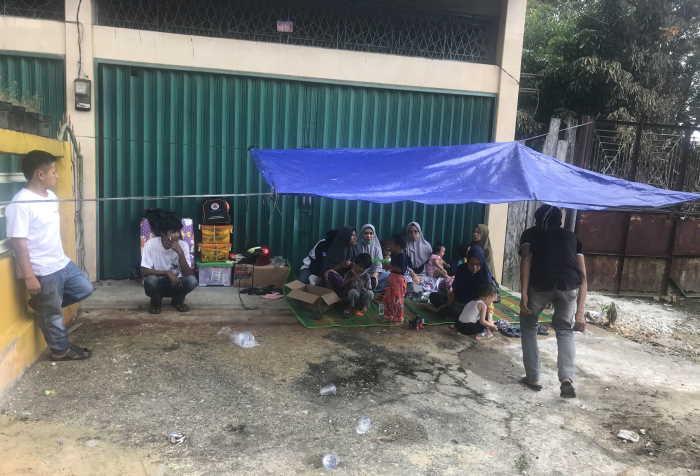 Camat Tualang Sewakan Rumah untuk Korban Kebakaran di Perawang