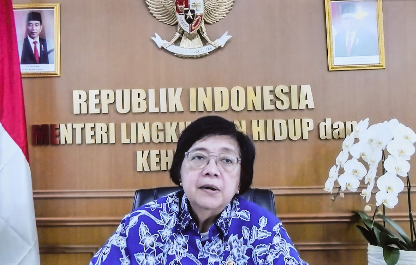 Titik Panas Terbanyak di Riau, Menteri LHK Minta Semua Pihak Pantau Wilayah Rawan Karhutla