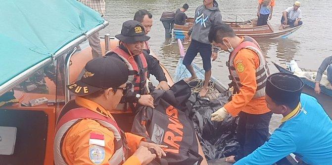 Zainal Ditemukan Tinggal Tulang di Sungai Indragiri, Diduga Dimakan Buaya