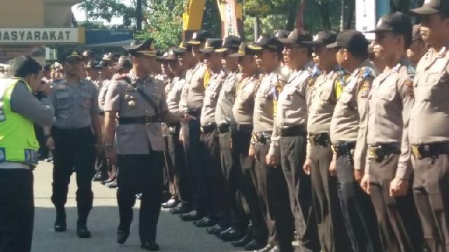 4 Gereja di Pekanbaru Mendapat Prioritas Pengamanan Polisi