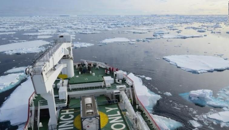 Es Antartika Bisa Mencair Lebih Cepat dari yang Diduga