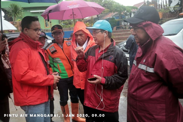 Anies Sebut Normalisasi Sungai Era Gubernur Sebelumnya Tidak Efektif Atasi Banjir