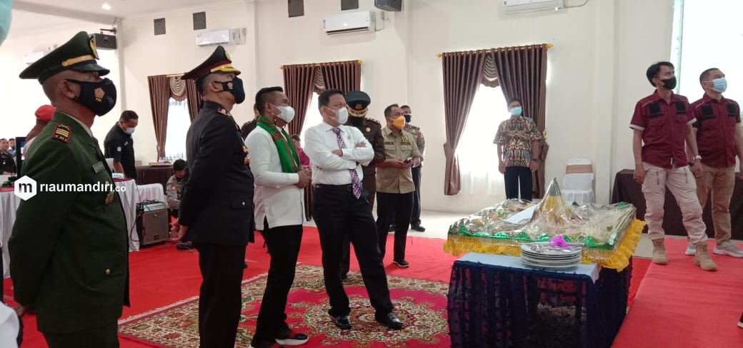 Perayaan HUT Bhayangkara di Pelalawan Dilaksanakan Sederhana