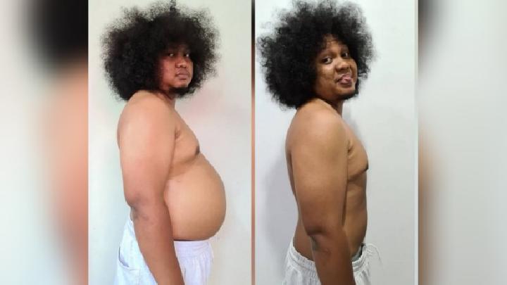 Babe Cabita Unggah Foto Hasil Diet, Ridwan Kamil: Keren Photoshop-nya