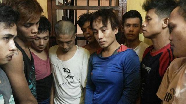 14 Tahanan Polsek Bukit Raya Kabur, 9 Tertangkap 5 Masih Buron