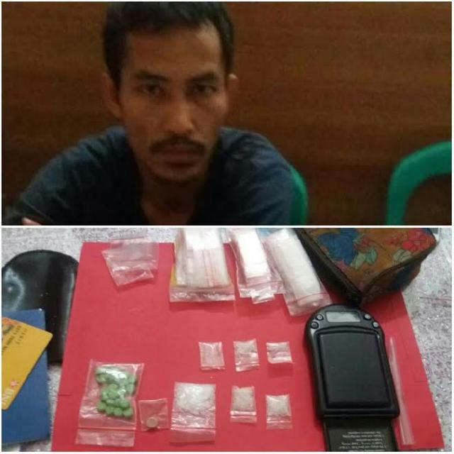 Oknum Satpol PP Riau Nekat Nyambi Jadi Pengedar Narkotika
