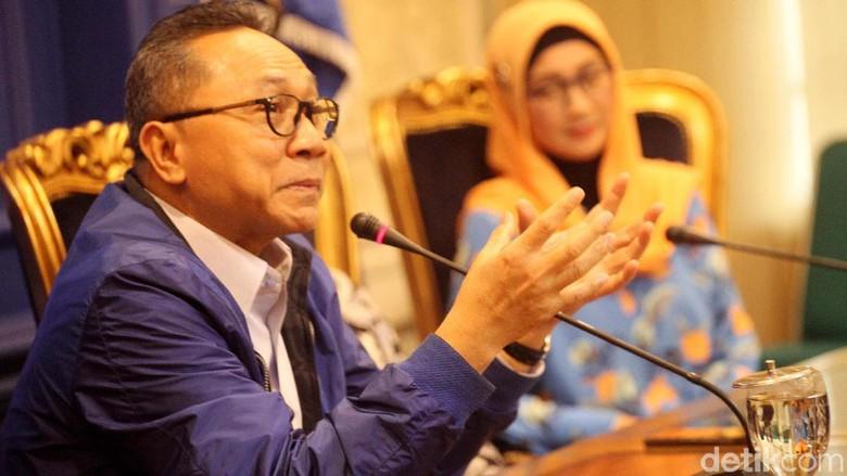 Mayoritas DPW PAN Pro Prabowo, Zulkifli: Asal Bisa Buat Lolos DPR