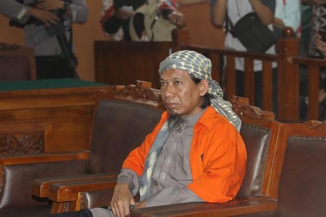 Jaksa Sebut Aman Abdurrahman Pengaruhi Pelaku Bom Gereja di Samarinda