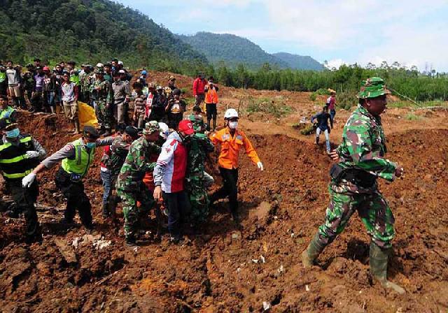 Longsor di Bengkulu, 2 Orang Tewas