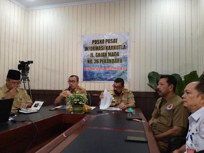 Riau Terima 10 Alat Pemadam Karhutla Bertekanan Tinggi dari BNPB