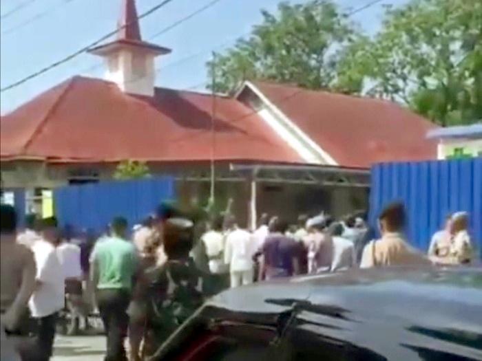 Renovasi Gereja di Karimun Kepri Ditolak Warga, Keributan Sempat Terjadi