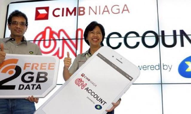 XL-CIMB Niaga Rilis Tabungan On Account