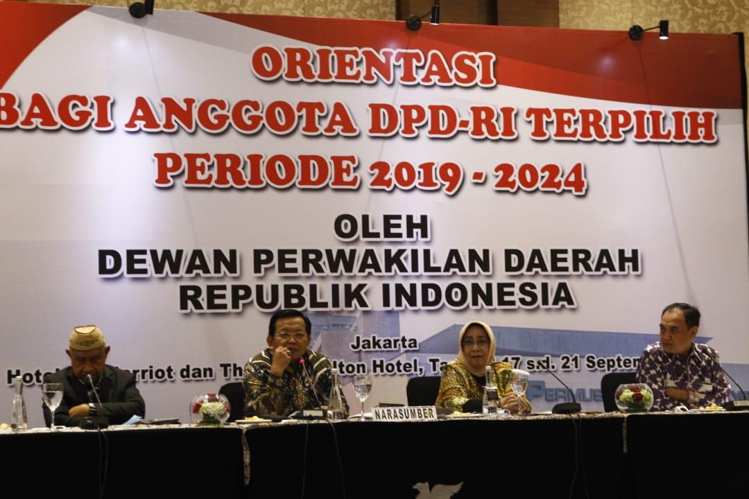 Anggota DPD RI Harus Fokus Perjuangkan Kepentingan Daerah
