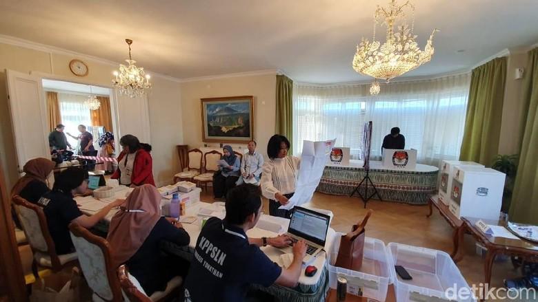 Hari Ini, WNI di Malaysia hingga Rusia Lakukan Pencoblosan