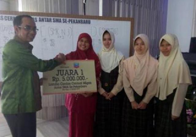 SMA As-Shofa Sabet Juara I