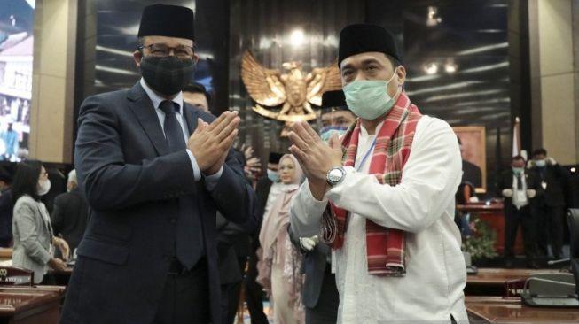 Riza Patria Dilantik Jadi Wakil Gubernur Jakarta: Demi Allah Saya Bersumpah...