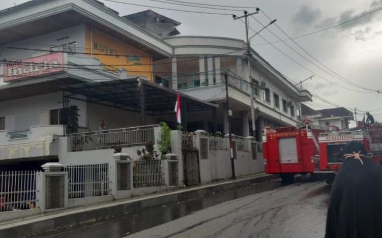 Hotel Indria Bukittinggi Terbakar, Kerugian Ditaksir Rp80 Juta
