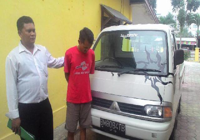 Polisi Ringkus Pelaku Pencurian Mobil Pick Up