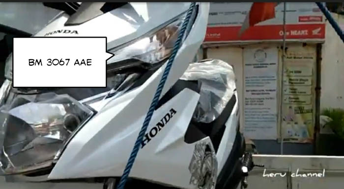 Terparkir di Rumah, Motor Pemred ParasRiau.com Raib Digondol Maling
