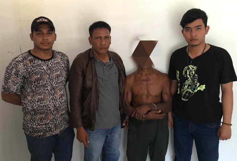Diduga Cabuli Bocah, Pria Usia 68 Tahun Digiring ke Mapolsek Merbau