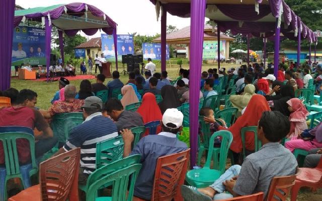 Jelang Pencabutan Nomor Urut Paslon, Firdaus Akhiri Agenda Roadshow di 4 Kabupaten